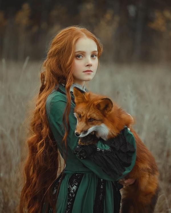 少女与狐狸