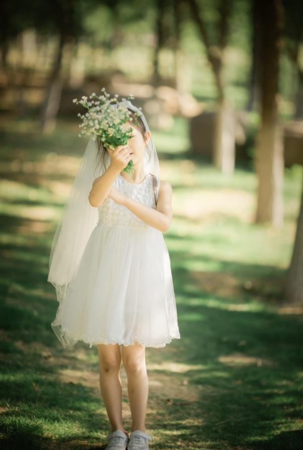 婚纱 儿童
