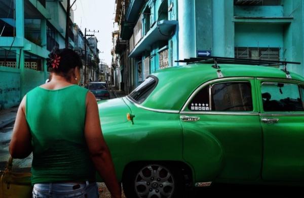 绿衣与绿车